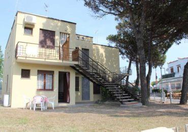 Appartamento frontemare rosolina, Piano terra fronte mare, Rosa Pineta , Rosapineta , vacanze in appartamento frontemare.